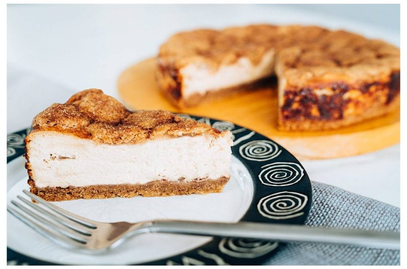 The Best Snickerdoodle Cheesecake