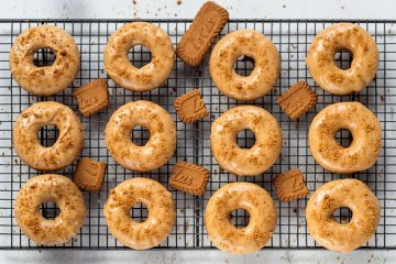 Biscoff Donuts and Doughnuts