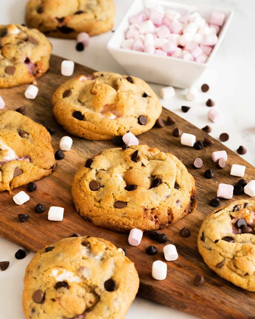 Smores cookies without graham crackers recipe