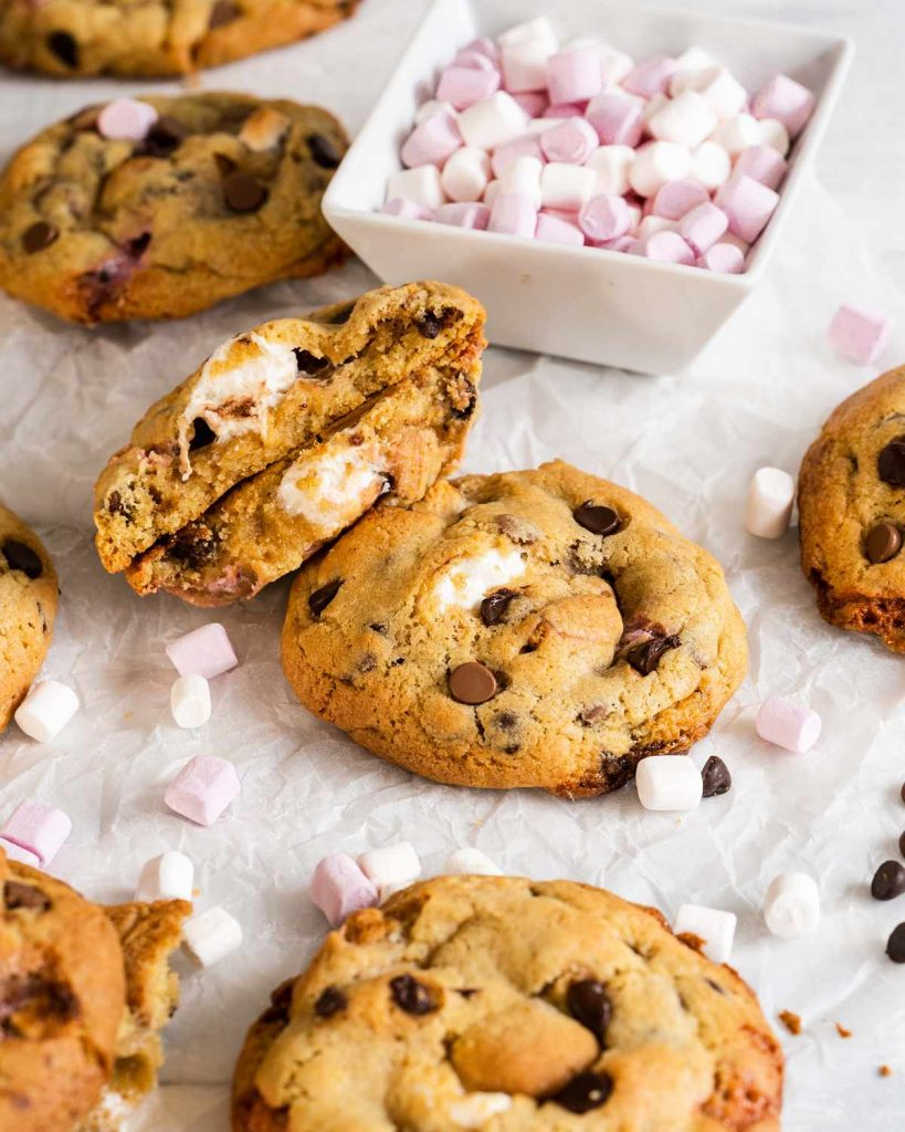 Smores cookies without graham crackers